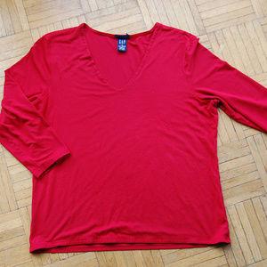 GAP Stretch 3/4 Sleeve Top